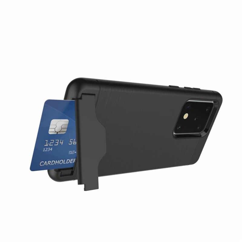 Per Samsung Galaxy S7 bordo S8 S9 S10 A8 Nota 10 Più S20 Ultra Caso di TPU Antiurto Armatura Della Copertura Per a3 A5 A7 2017 Slot Per Scheda di Casi