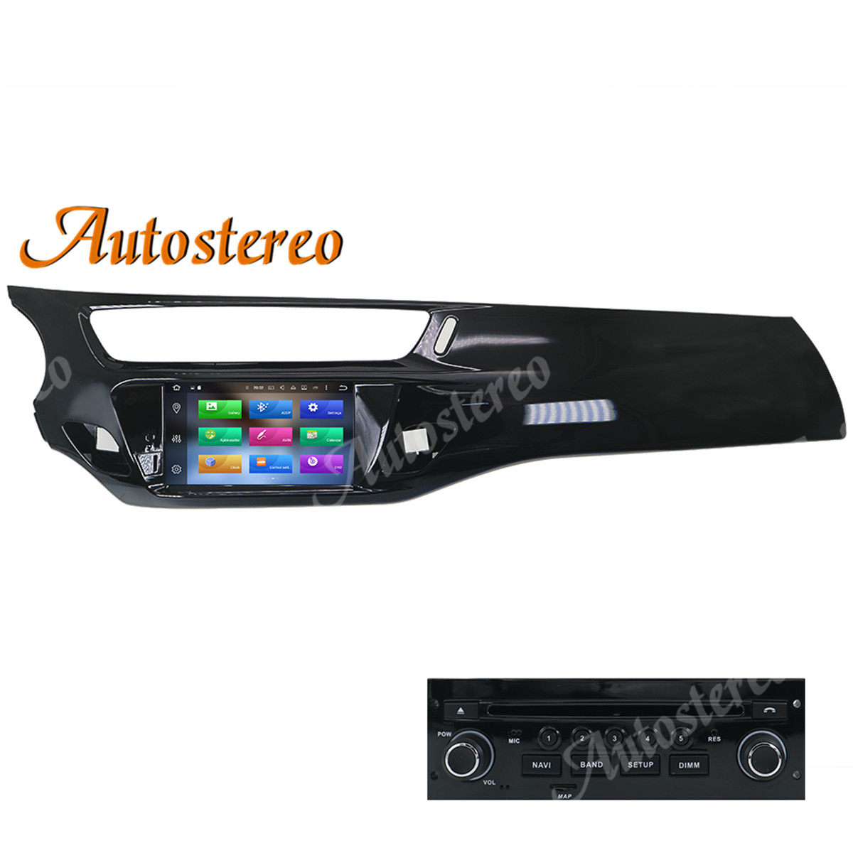 Android 10 64GB Car DVD Player GPS navigation For Citroen C3 DS3 2010+ multimedia player radio tape recorder stereo headunit DSP