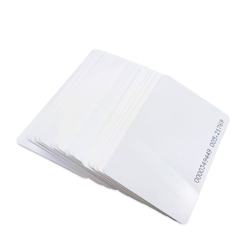 1Pcs TK4100 EM4100 RFID Smart Card PVC Safe ABS Card 125KHZ 85.5 * 54mm For Access Control Read Only