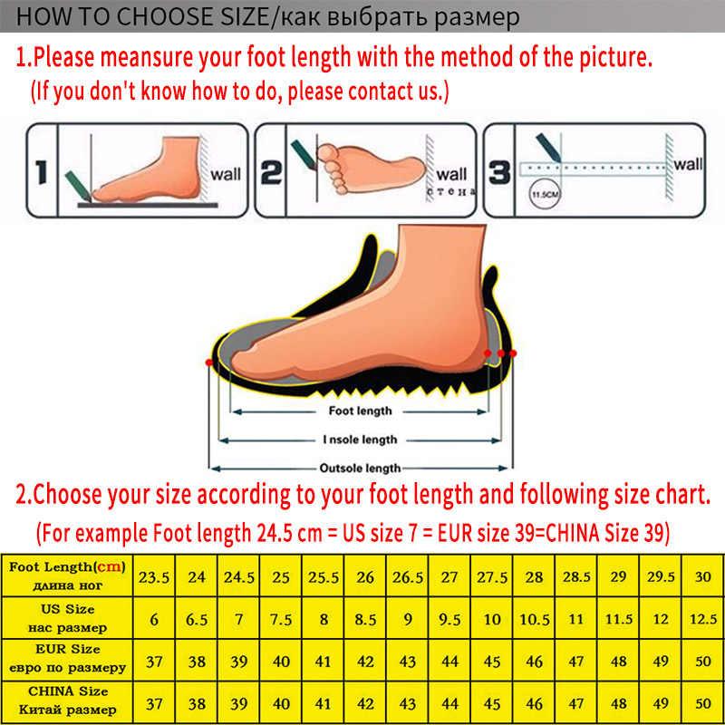 Nova marca outono camurça couro sapatos casuais para homens grossos tênis respirável não-deslizamento sapatos de ginásio ao ar livre tênis de caminhada