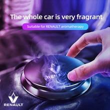 Car deodorant perfume interior for Renault Koleo car aromatherapy car air freshener smell flying saucer shape