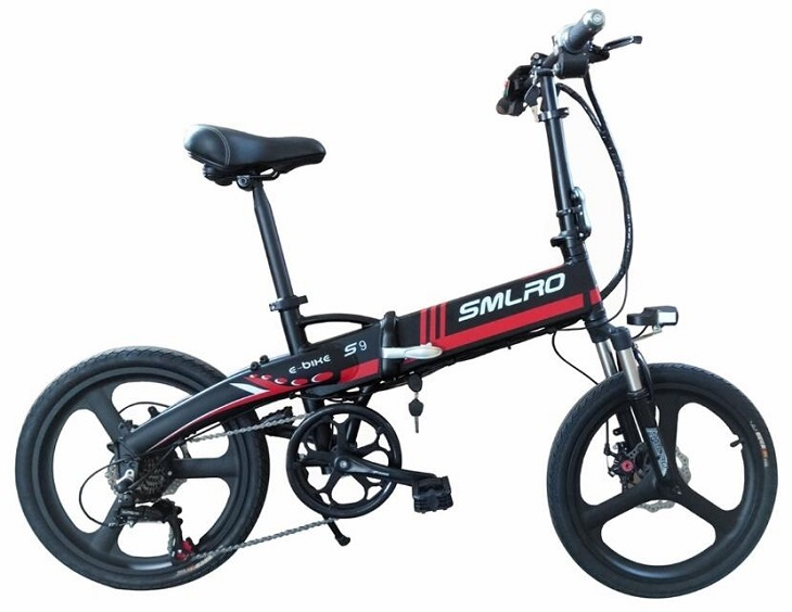 S9F China manufacturer 20 inch e bike 48v 1000w Bafang Motor fatbike 14AH Sam sung battery folding electric bike 6