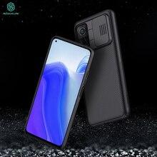 For Xiaomi mi 10t Case NILLKIN Slide Camera Protection Case For Xiaomi mi 10t mi 10t pro 5G Anti skid Camshield Cover Cases