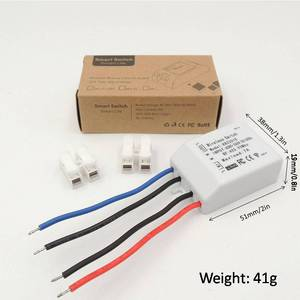 Image 3 - 433Mhz Universal Wireless remote control Light Switch AC 110V 220V 7A 1CH RF Relay receiver and Transmitter for Lighting Bulb