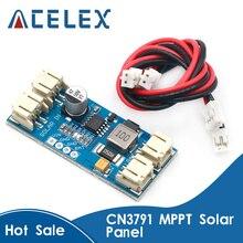 1 תא סוללת ליתיום מטען 3.7V 4.2V CN3791 MPPT פנל סולארי רגולטור בקר שמש פנל מטען לוח בקר מודול
