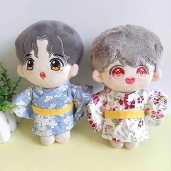 20cm EXO ubranka dla lalki ubranka dla lalek BJD ubranka dla lalki chłopiec dziewczyna kimono yukata dla exo lalki i buty boot możesz wybrać tylko ubranka dla lalki tanie i dobre opinie BULINBULIN 13-24m 25-36m 4-6y 7-12y 12 + y Tkanina CN (pochodzenie) K-026 Unisex Moda Akcesoria Suit fit for 20 cm doll