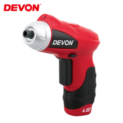 DEVON 4V Lithium-ion Electric Screwdriver Rechargeable Home DIY Multi-function Magnetic Screwdrivers mini batch Drill Power Tool