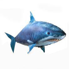 Игрушка Летающая акула на радиоуправлении клоун Немо искусственный