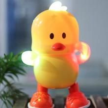 Развивающие игрушки Электрический танец желтые утки раннего детского образования игрушки