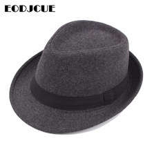 2019 Winter Hat Wide Brim Fedora Jazz Hat Men Outdoor hat Retro Bowler Hats gorro