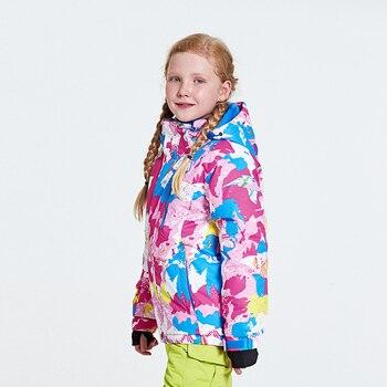 Children's Ski Jacket Snow Sports Warm Waterproof Jackets For Kids  Winter Skiing&Snowboarding Jackets Boys&Girls Outdoor Coats