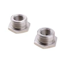 Из нержавеющей стали уменьшить O2 порт датчика заглушки переходники 18 мм до 12 мм для