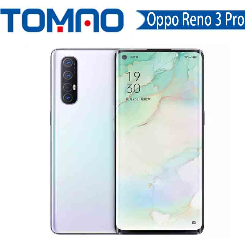 Oppo Reno 3 Pro 5G Cell phone Octa Core Snapdragon 765G 48MP Real Cameras 8GB 12GB RAM 128GB 256GB ROM 6.5inch Google Play NFC|Cellphones| - AliExpress