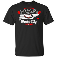 Nashville Draft Music City Usa Stijl Mens T Shirt Maat S - 3Xl Sweatshirt Tee Shirt(China)