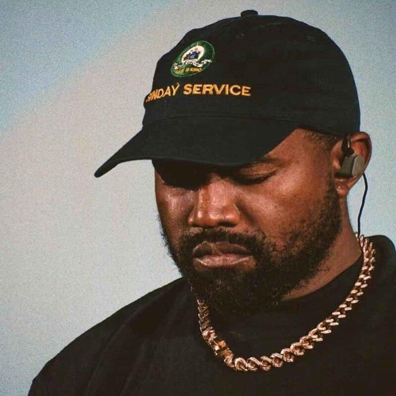 Jesus is King Kanye West Sunday Service Baseball Caps  3