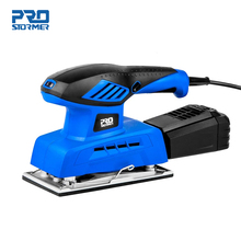 240W Electric Sheet Sander 20 Sheets of Sandpapers 7 Variable Speed 230V Dust Collection Polisher Power Tool by PROSTORMER