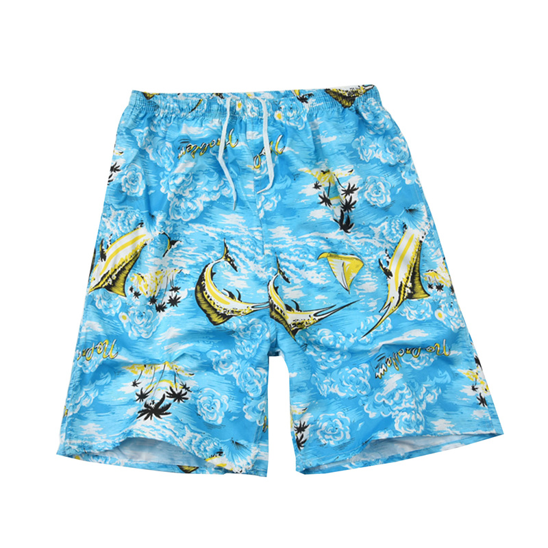 Men Casual Shorts Printed Beach Quick Dry Board Breathable Waterproof  Pant One Size 22 Styles 5