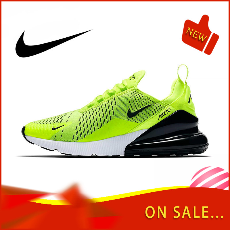Original Authentic Nike Air Max 270 180 Men's Running Shoes Fashion Outdoor Breathable Sports Shoes Comfortable AH8050-202