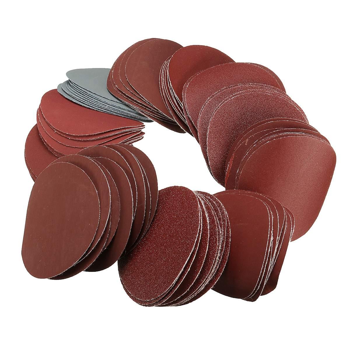 3 Inch Polishing Pad Sanding Discs Sandpaper For Sander Grits 80 120 240 400 600 800 1000 1200 1500 2000 3000 Grit 10Pcs/set