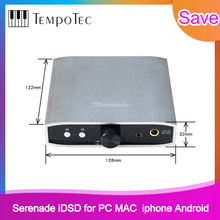 Convertidor Digital a analógico (DAC) TempoTec Serenade iDSD USB DAC y amplificador de auriculares para PC, MAC, iPHONE, Android, 24 bits/192khz, DSD