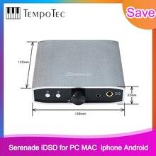 Digitale Analoog Converter (Dac) tempotec Serenade Idsd Usb Dac & Hoofdtelefoon Versterker Voor Pc Mac Iphone Android 24bit/192Khz Dsd