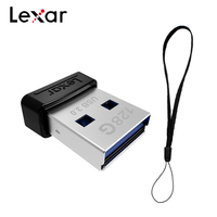 100% Оригинальный Lexar JUMPDRIVE S47 USB флэш-накопитель 128 Гб 64 Гб оперативной памяти, 32 Гб встроенной памяти, мини-флеш-накопитель USB 3,0 флэш-накопитель...