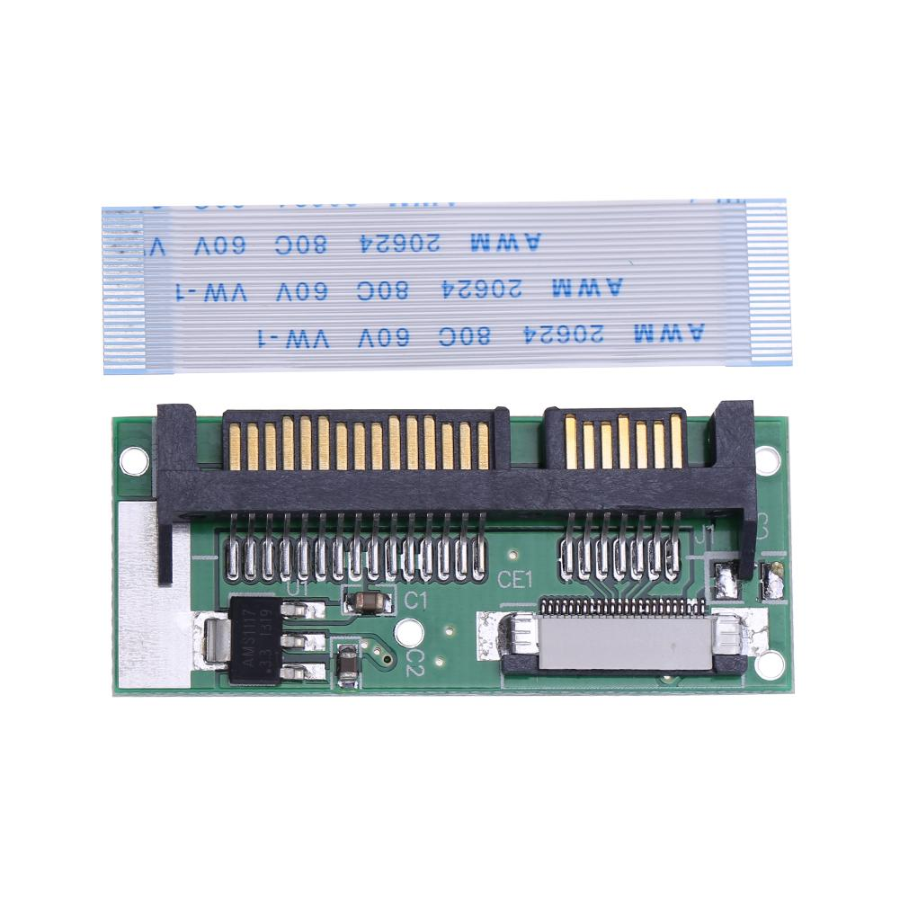 1.8inch LIF To 2.5inch SATA 24Pin ZIF To 22Pin SATA Converter Adapter Card For Macbook Air For Toshiba For Samsung SSD