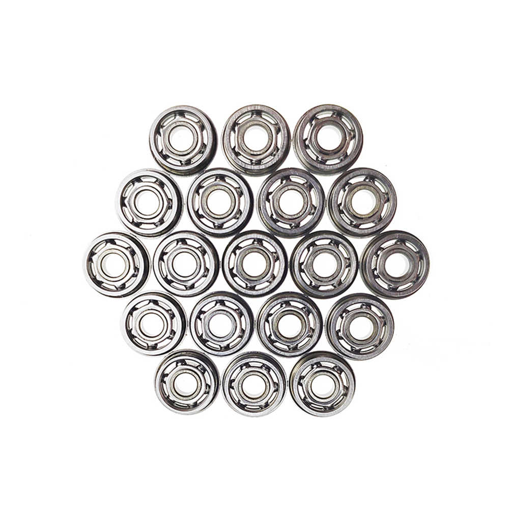6pcs Rvs Ball Bearing Voor Airsoft AEG Gel Blaster Versnellingsbak Paintball Accessoires 6mm/7mm/ 8mm/9mm