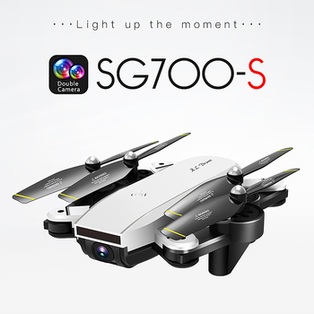 SG700-S Upgraded Foldable RC 1080p Drone Profissional WIFI FPV Dual Camera Drone Follow Mode APP Control Quadcopter Toy Dron