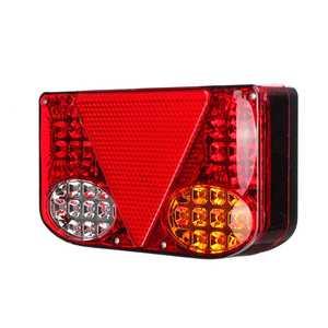 Image 4 - ضوء خلفي للسيارة LED ، مصباح الفرامل الخلفي ، إشارة الانعطاف للشاحنة ، مقطورة ، الشاحنة ، 12 فولت ، 2 قطعة