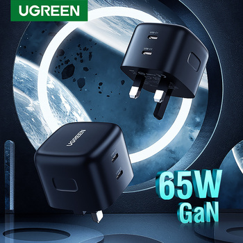 ugreen-65w-gan-charger-uk-plug-quick-charge-4-0-3-0-usb-type-c-qc-pd-usb-charger-fast-charger-for-iphone-xiaomi-laptop-tablet