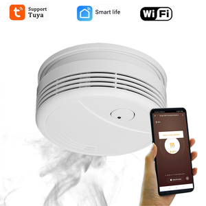 Image 3 - אלחוטי אזעקת detetor עשן מערכת אזעקה בבית 433MHZ/ wifi Tuya אש מעורר אבטחת בית מערכת עשן אש להגן