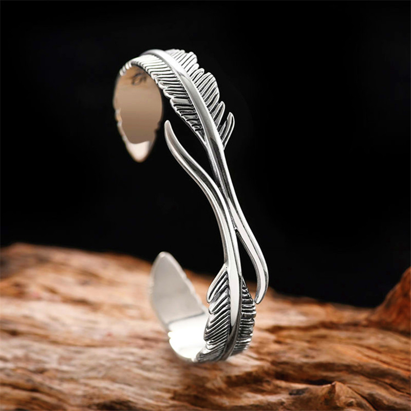 Хит продаж 2021, оригинальный Регулируемый Женский браслет в стиле панк, готические ювелирные изделия из тибетского серебра, подарок на удачу