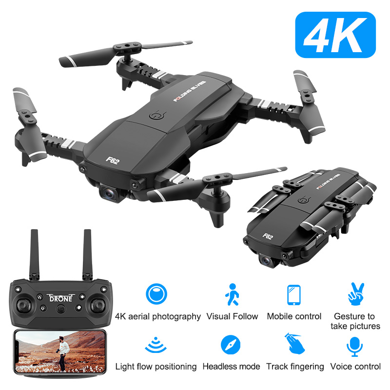 Mini Dron Rc Quadcopter with Wide Angle HD Camera Drone Gps High Hold Mode Foldable Arm RC Helicopter Altitude Helicopter