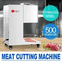 110 V/220 V edelstahl Frische fleisch Schneiden maschine  Fleisch cutter Hobel  500kg ausgang