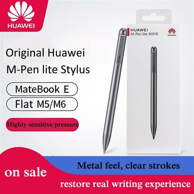2019 oryginalny 100% rysik m-pen lite dla Huawei Mediapad M5 lite M6 pojemnościowy długopis rysik M5 lite M6 10 dotykowy długopis dla Matebook E