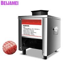 BEIJAMEI фабричная машина для ломтерезка мяса Электрический Нож для мяса Мясорубка Коммерческая резка мяса 220V 850W