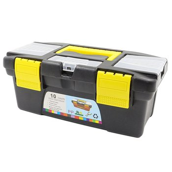 10 Inch 12.5Inch Multifunctional Instrument Parts Hardware Tool Storage Box ABS Plastic Toolbox Electrician Box