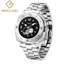 Часы prince gera мужские спортивные механические с секундомером