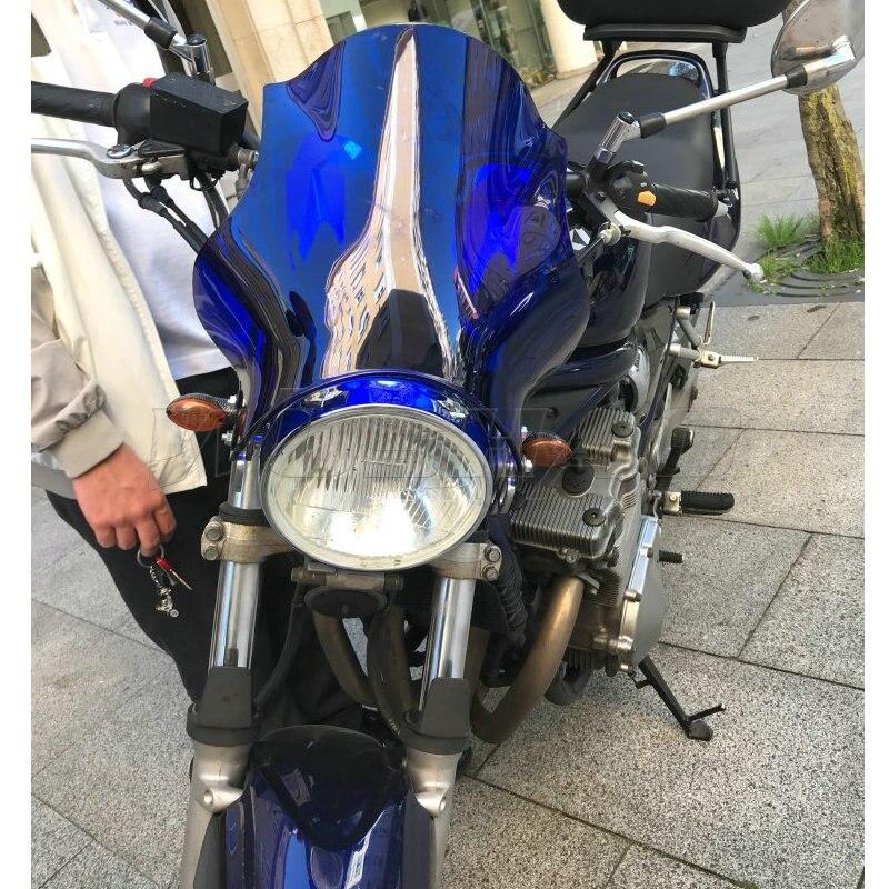 Windshield Windscreen for G#gt Honda CB NT 250 400 650 750 900 919 1000 1300 X4