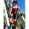Mulher profissão triathlon terno roupas ciclismo skinsuits conjunto do corpo rosa roupa de ciclismo macacão das mulheres triatlon kits conjunto feminino ciclismo Uma variedade de macacões femininos especiais de alta 18