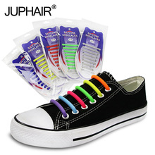 shoelaces three-dimensional semi-circular creative silicone elastic lazy free adult children lace kids laces buckle round head