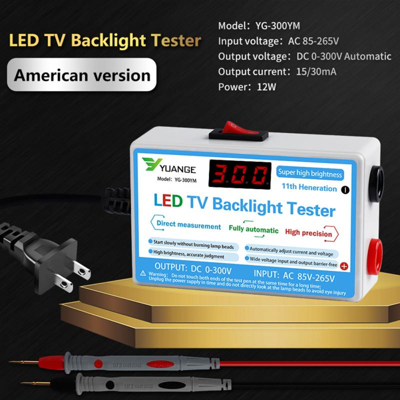 2020 New LED Tester 0-300V Output LED TV Backlight Tester Multipurpose LED Strips Beads Test Tool Measurement Instruments