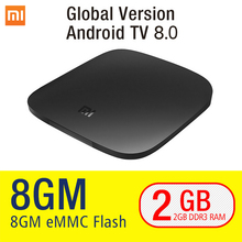 купить Xiaomi MI Box 3 Android TV 8.0 2G+8G Google Certified Support BT Dual-Band WIFI Xiaomi MI Box 3 Android TV 8.1 Quad-core Xiaomi по цене 3406.16 рублей