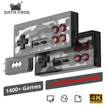 RETROMAX gra wideo konsola gra Retro wbudowana 1400 + NES gry Mini konsola z AV/wyjście HDMI dla TV Plug And Play