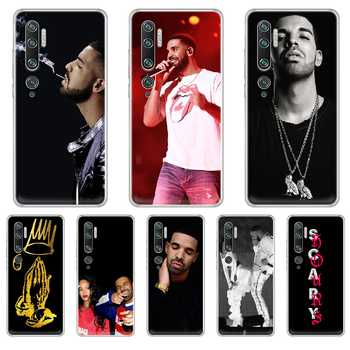 Rapper Aubrey Drake Graham Phone Case cover hull For XIAOMI MI 3 4 5 5X 8 9 10 se max pro a2 9T note lite transparent cover image