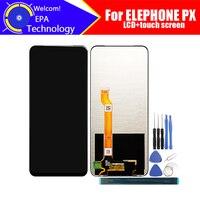 6.53 polegada elephone px display lcd + digitador da tela de toque assembléia 100% original novo lcd digitador toque para elephone px ferramentas