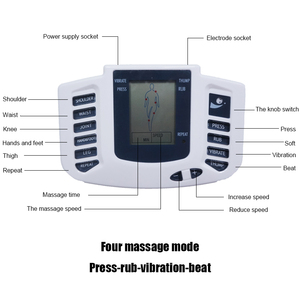 Image 3 - Tlinna  New Healthy Care Full Body Tens Acupuncture Electric Therapy Massager Meridian Physiotherapy Massager Apparatus Massager