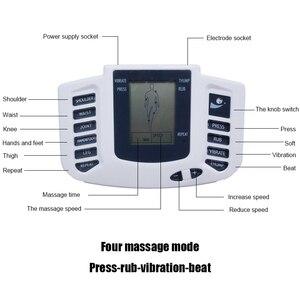 Image 3 - Tlinna חדש בריא טיפול מלא גוף עשרות דיקור חשמלי טיפול לעיסוי פיזיותרפיה מרידיאן לעיסוי מנגנון לעיסוי