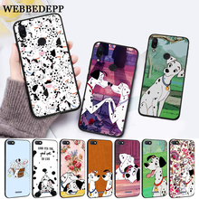 WEBBEDEPP Dalmatian cartoon Silicone Case for Xiaomi Redmi Note 4X 5 6 7 Pro 5A  Prime все цены